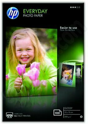 HP Everyday Glossy Photo Paper (Pack of 100) (CR757A)