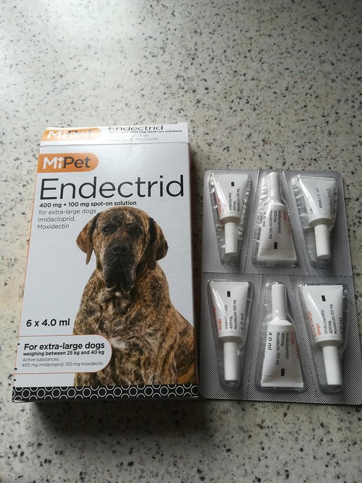 MiPet Endectrid SPOT ON FLEA TREATMENT FOR EXTRA LARGE DOGS