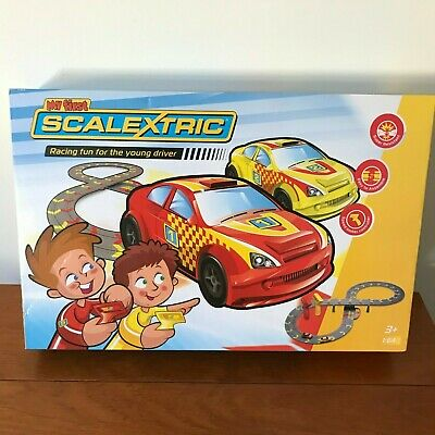 My First Scalextric G Scale Racing Set - box damage