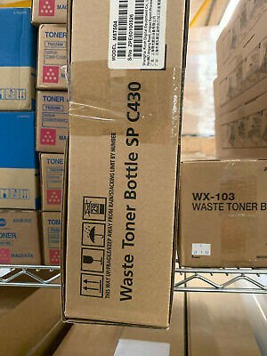 NEW Ricoh  Waste Toner Bottle SP C Prints