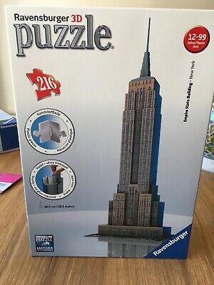 Ravensburger - 3D Empire State Building Puzzle 216 Pieces