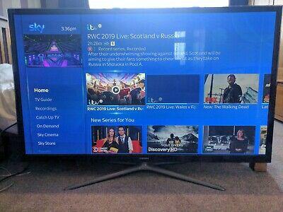 "Samsung Smart TV PS60FAK 60"" 3D p HD Plasma Internet"