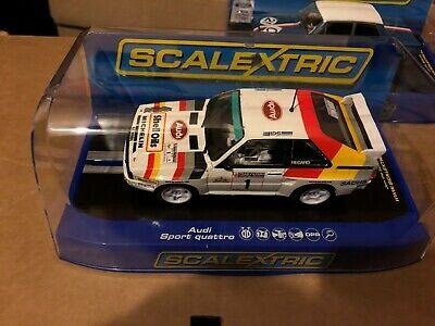 Scalextric Audi Sport Quattro S1 #1 Hannu Mikkola  Welsh