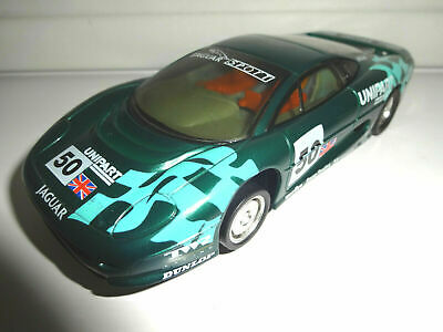 Scalextric C483 Jaguar XJ220 GT Le Mans Sportscar Slot Car -