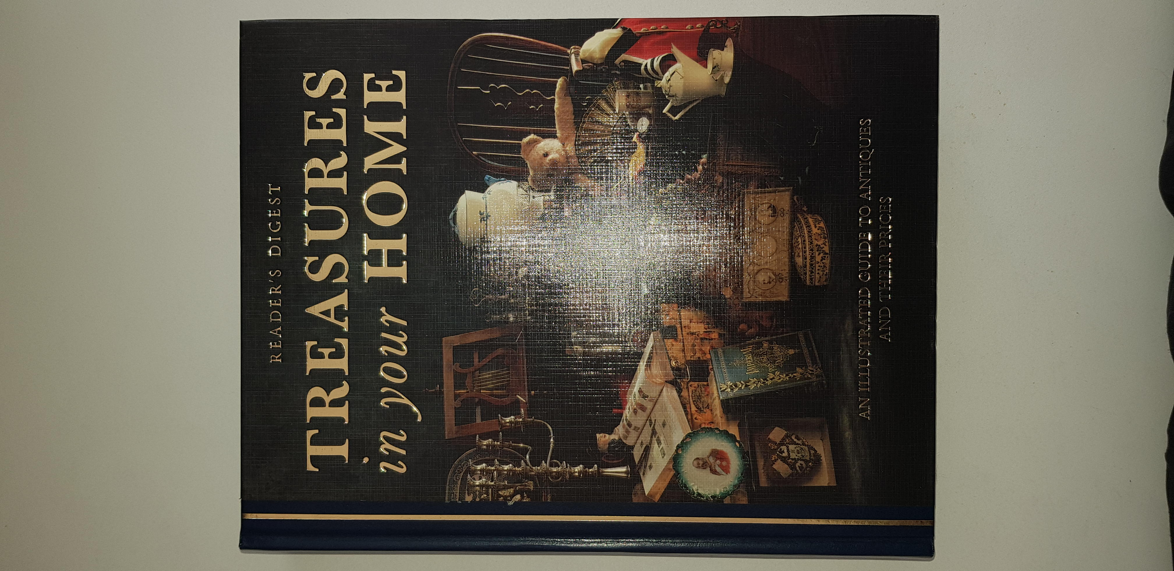 """""""Treasures in your home"""" Readers Digest publication"""