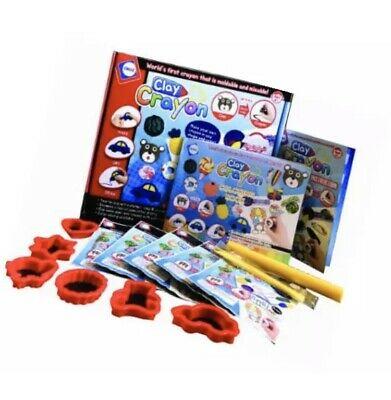 Alphabet Pie Clay Crayon DIY Kit. Make your own crayons