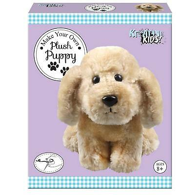 BEST FOR KIDS MAKE YOUR OWN PLUSH PUPPY DOG SUITABLE AGE 8+