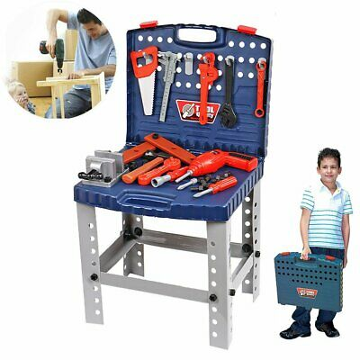 Children 69PC DIY Tool Drill Play Toy Work Bench Kids Boys