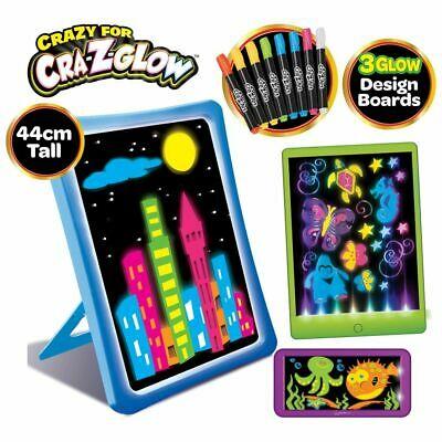 Cra-z-art Glow Board Set