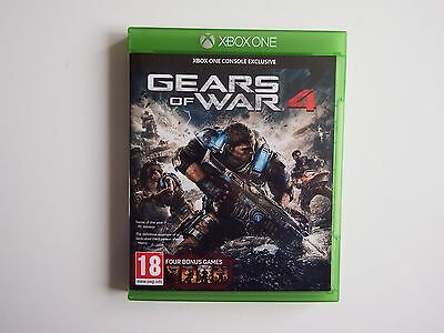 Gears of War 4 for Xbox ONE in MINT Condition