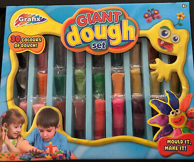 Grafix Giant 30 Colour Modelling Moulding Dough Play Set