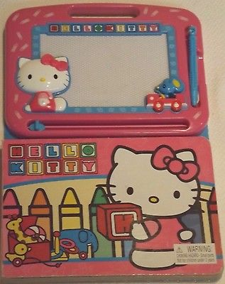 HELLO KITTY MAGNETIC DRAWING BOARD MAGIC DOODLE STYLUS