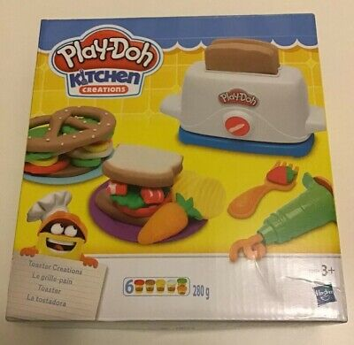 Play-Doh Kitchen Creations Toaster Creations Box.Brand New.