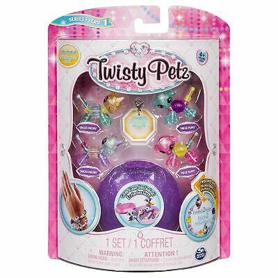 Twisty Petz Twin Babies Glitzy Bracelets, 4 Pack Set, Mixed