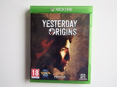 Yesterday Origins for Xbox One in MINT Condition