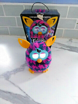 FURBY Boom Interactive  Electronic Pet Toy Pink Purple