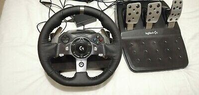 Logitech G920 Steering Wheel and Pedals for Xbox One PC mint