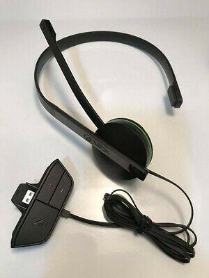Microsoft Xbox One Chat Headset - Black *Original adaptor*