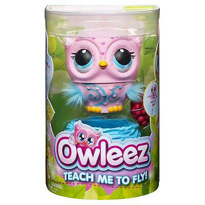 Spinmaster Owleez Flying Baby Owl Interactive Toy with