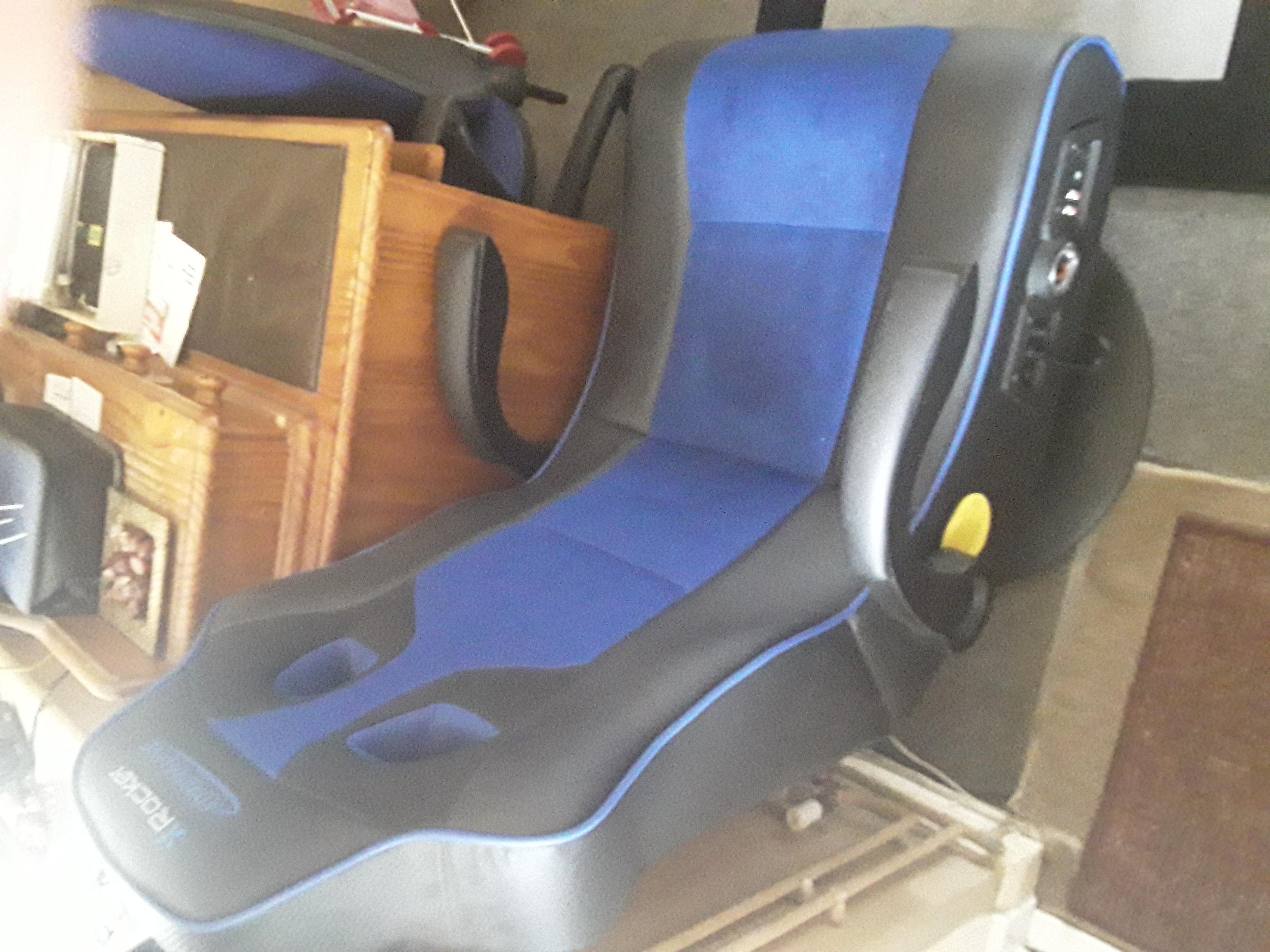 X Rocker Adrenaline Gaming chair.