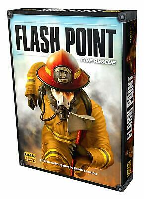 FLASH POINT FIRE RESCUE SECOND EDITION BOARD GAME Indie