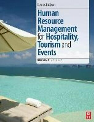 Human Resource Management for the Hospitality and Tourism