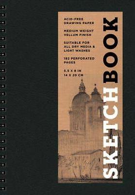 Sketchbook (Basic Small Spiral Black) by Sterling Publishing