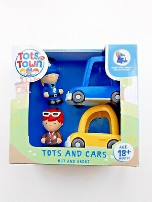 Chad Valley Tots Town Tots and Cars Out and About Set, FAST