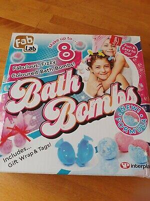 Fab Lab Make Bath Bombs Kit Bath Time Fun Creative Toys