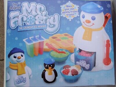 MR FROSTY The Crunchy Ice Maker Make Your Own Frozen Treats