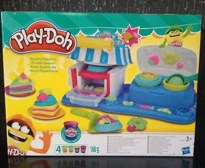 Play Doh Sweet Shoppe Shop Double Desserts PlayDoh Set