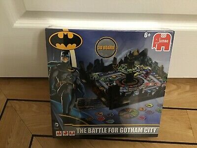 The Battle for GOTHAM CITY Batman D Board Game by