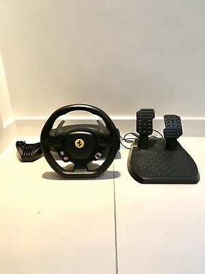 Thrustmaster Ferrari 458 Italia Racing Wheel with Foot Pedal