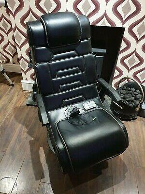 X-Rocker Evo Pro Gaming Chair - Black