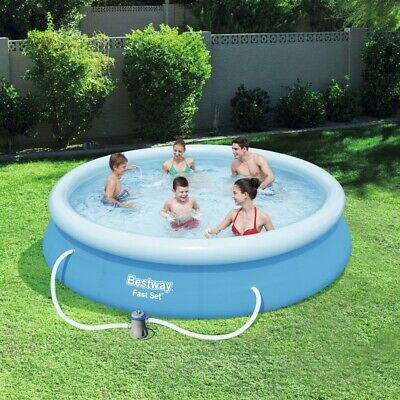 Bestway 12foot x 30inch Fast Set Inflatable Swimming Pool