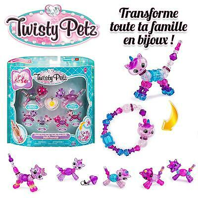 Twisty Petz  Family 6 Pack, Multicolored Christmas
