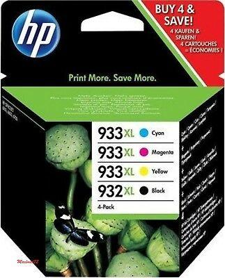 Genuine Original Set of HP 932XL/933XL Ink Cartridges -