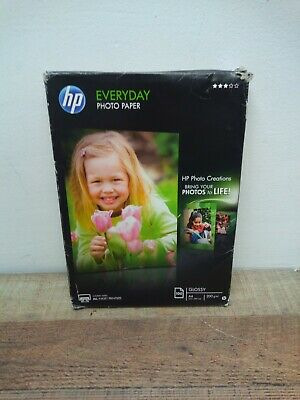 HP Everyday (A4) Glossy Photo Paper (100 Sheets) 200gsm