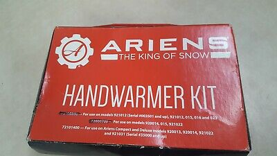 Genuine Ariens Sno-Thro Heated Handwarmers