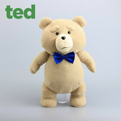 Movie Ted Bear Plush Toys Soft Stuffed Tux bow Teddy Bears