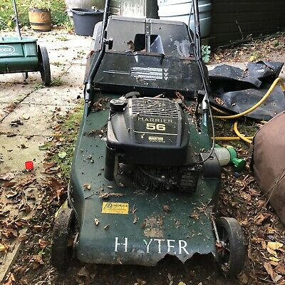 Rare HAYTER Harrier Quantum 56 Vintage Lawn Mower