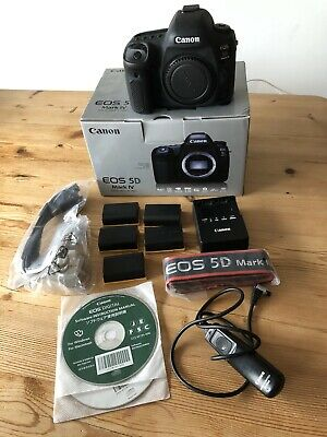 CANON EOS 5D MARK IV 30MP DIGITAL SLR CAMERA - Very Low