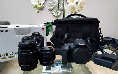 Canon EOS 200D 24.2 MP Digital SLR Camera with EXTRA EF lens
