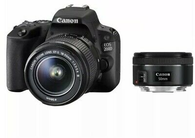 Canon EOS 200D Digital SLR mm f III + 50mm f1.8