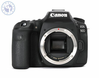 Canon EOS 90D 32.5MP Digital SLR Camera (Body Only)