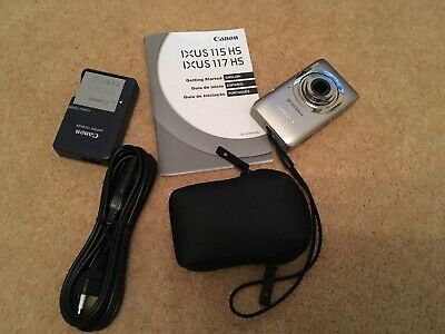 Canon IXUS 115 HS Digital Camera Full HD - Silver