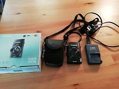 Canon IXUS 255 HS 12.1MP Digital Camera - Black