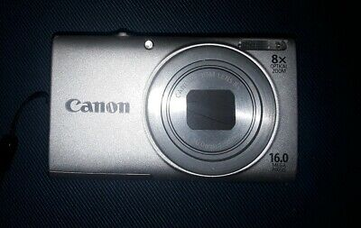 Canon PowerShot A IS 16.0MP Digital Camera - Silver