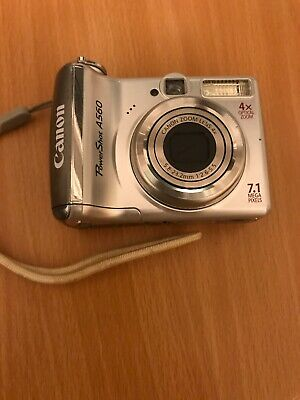 Canon PowerShot A560 Compact Digital Camera - 7.1 MP, 4x