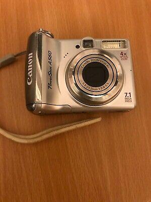 Canon PowerShot A560 Compact Digital Camera - 7.1 MP, 4x